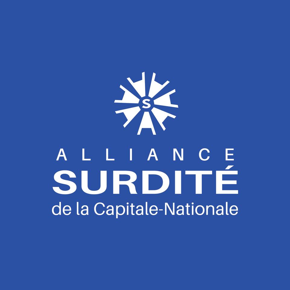 Logo Alliance de la surdité de la Capitale-Nationale